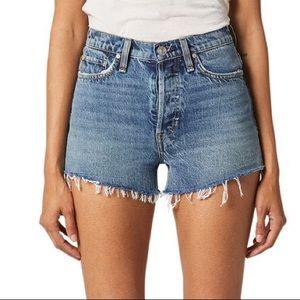 Hudson Jeans | Cara High Waist Cutoff Denim Shorts